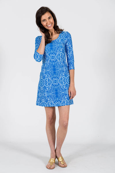 Darby Shift Dress in Up Until Dawn