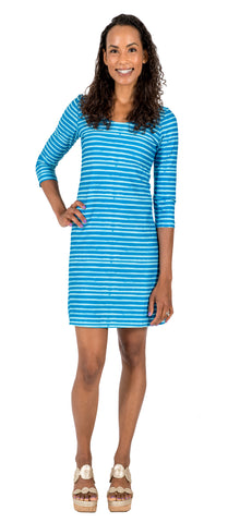 Darby Shift Dress in Sea Gypsy (Final Sale)