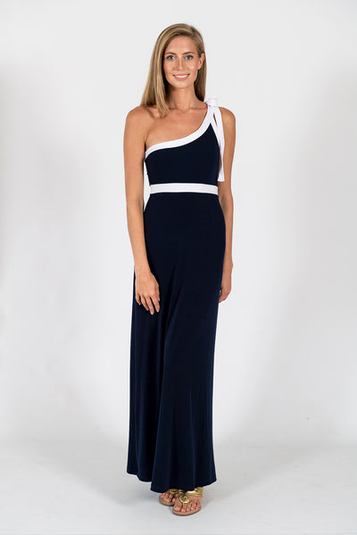 Lauren Maxi Dress in Stormy Navy