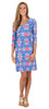 Lulu Longer Length Shift Dress in That's Amore (Final Sale)