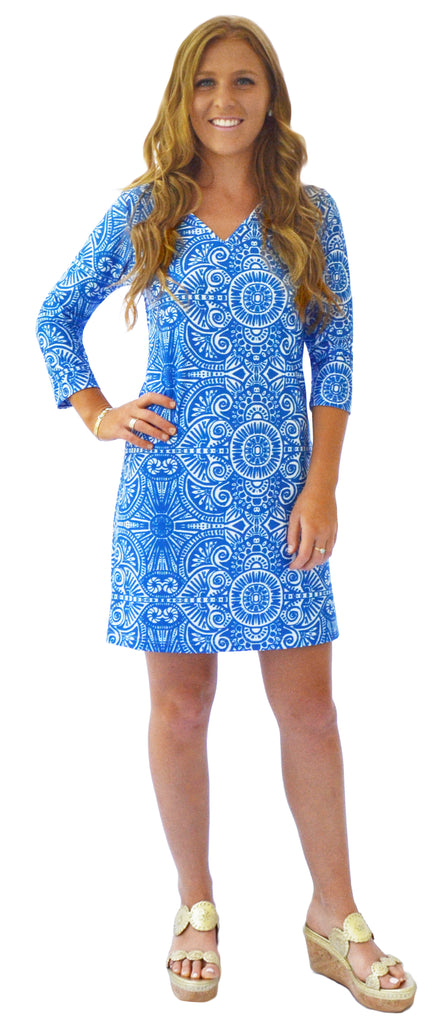 Lulu Shift Dress in Up Until Dawn