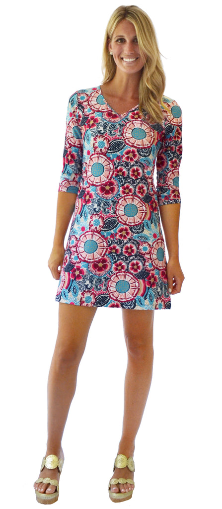 Lulu Shift Dress in Wildflower (Final Sale)