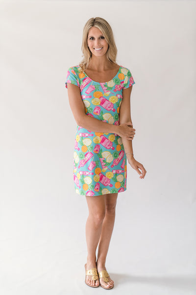 McKinley Shift Dress in Southern Sips