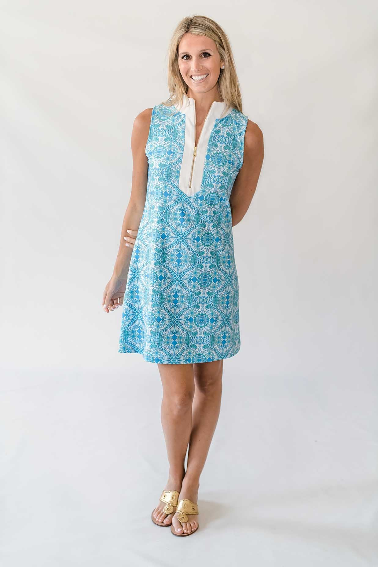Addie Tunic Dress in Sea Gypsy