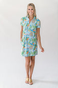 Nelly Classic Polo Dress in Meet Me In Florida
