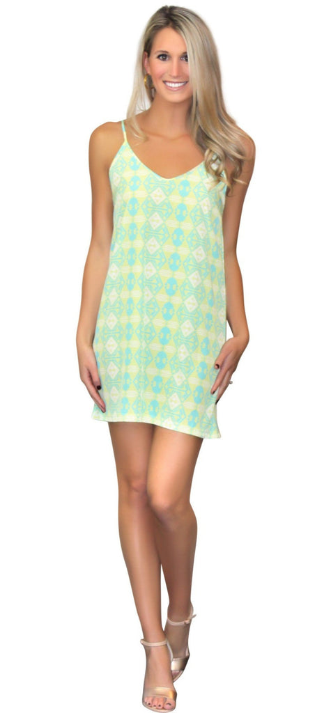 Kaeli Smith Piper Slip Dress in Somewhere Exotic XS-XL