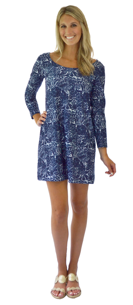 Remi Swing Dress in Spellbound Navy (Final Sale)