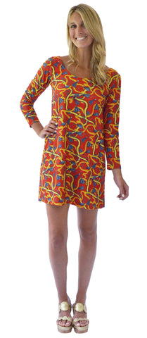 Twiggy Swing Dress in Up Until Dawn