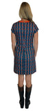 Sierra Ponte Shift Dress in Boho Love Stripe (Final Sale)