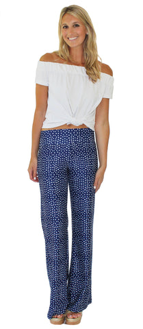 Tucker Wide Leg Palazzo Pants in Sun Goddess