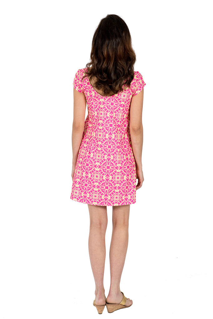 Twiggy Swing Dress in Hypmotized