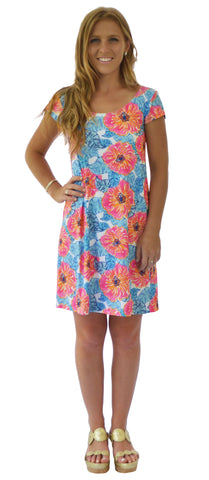 McKinley Shift Dress in Riviera Romance