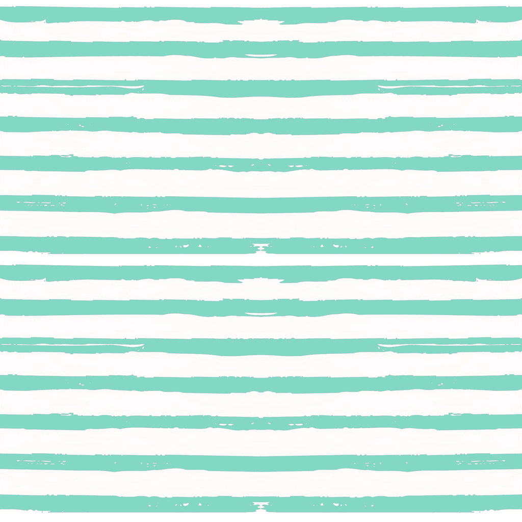 Remi Swing Dress in Effortless Stripe Aqua