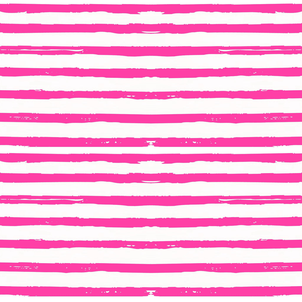 Roland Keyhole Dress in Effortless Stripe Pink