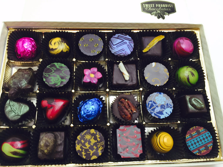 24 Pc Chocolate Box