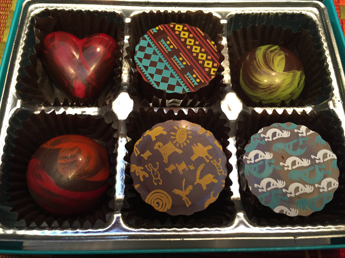 Six Piece Truffle Box