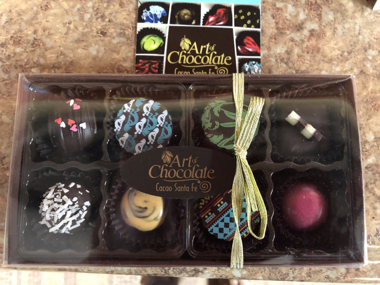 8 Pc Truffle Box