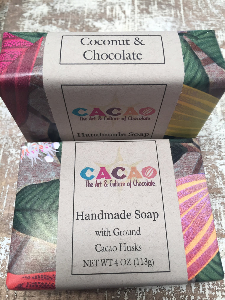 Chocolate Soaps from CacaoSantaFe