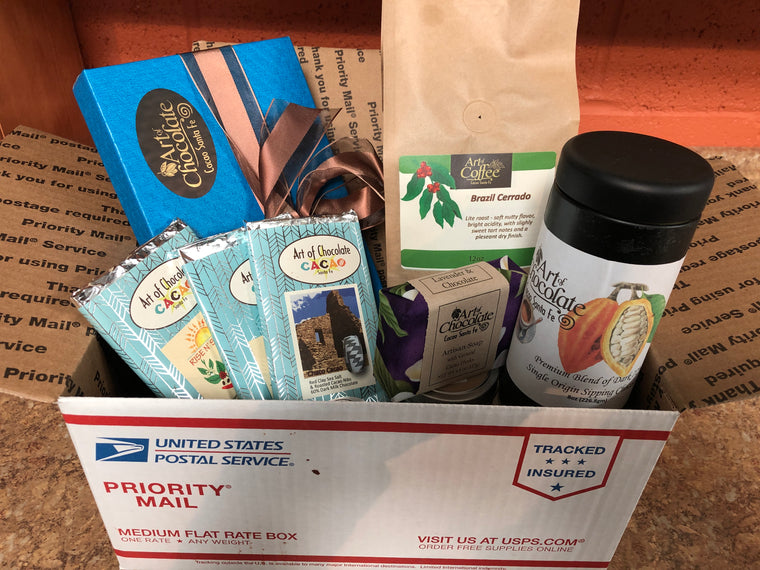 Care Package #1 Chocolate and Coffee