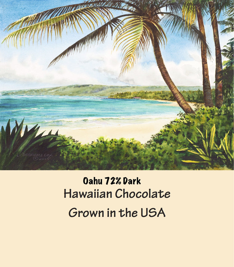 Cacao Santa Fe Special Hawaiian Dark Chocolate Collection