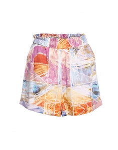 Geometric Art Print Shorts