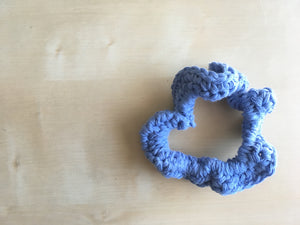 Bluebird Scrunchie