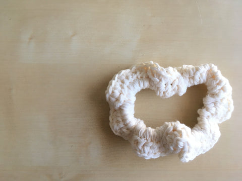 Old Lace Scrunchie