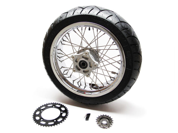 Bonneville Wide Rear Wheel Conversion Kits
