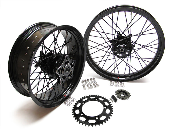 Scrambler TT Wide Wheel Kits
