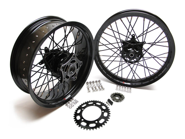 Thruxton TT Wide Wheel Kits