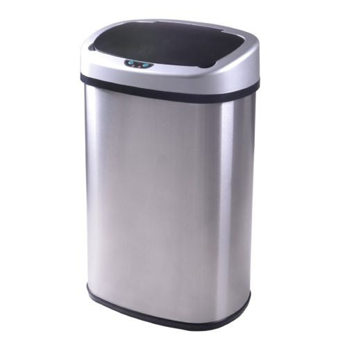Auto Sensor Kitchen Trash Can. Brand New. Stainless Steel.