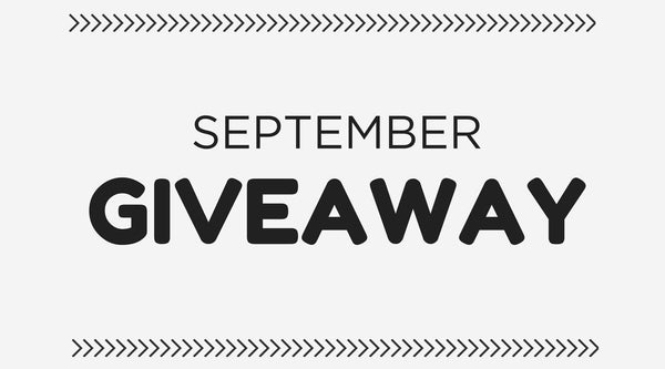 Participate in our September giveaway
