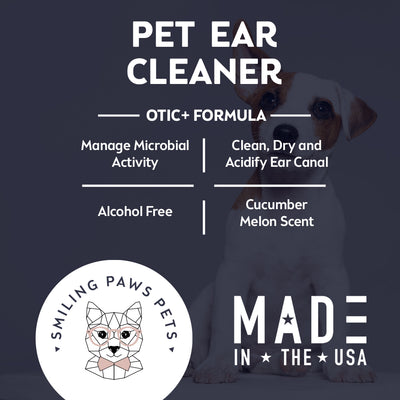 mange microbial pet ear cleaner