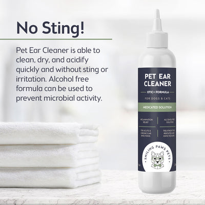 ear inflammation relief dogs and cats