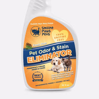 remove cat urine odor stain