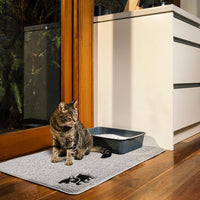 cat litter pan mat