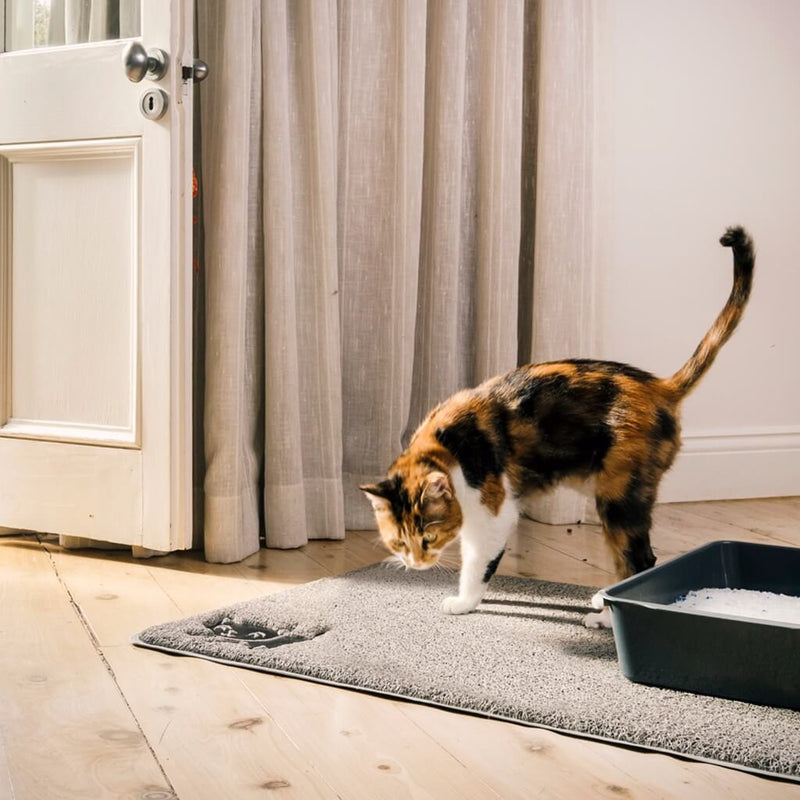 Cat Litter Mat Extra Large Washable Amp Waterproof In Gray