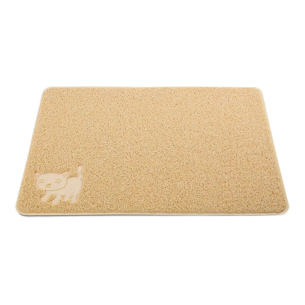 Cat Litter Mat [Beige]