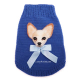 Personalized Chihuahua Clothes Portrait by Myknitt