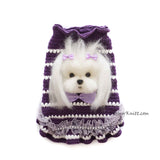 Maltese Portrait Dog Sweater Myknitt