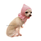 chihuahua ear warmer, dog hat crochet by Myknitt