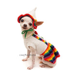 Dutch Girl Dog Dresses with Dog Sun Hats by Myknitt