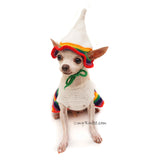Funny Pet Costumes with Dog Top Hat by Myknitt