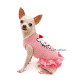 Girl Dog Dresses Hello Kitty Crochet by Myknitt