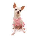 Pink Dog Clothes Teacup Puppy Clothes by Myknitt