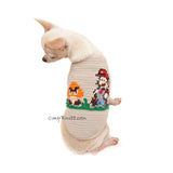 Mario Bros Costumes Custom Dog Clothes DF119 by Myknitt