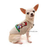 Mario Bros Cosplay Chihuahua Clothes by Myknitt Designer Dog Clothes