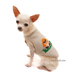 Crochet Dog Clothes Chihuahua Mario Bros by Myknitt Designer Dog Clothes