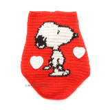 Snoopy Charlie Brown, Snoopy Shirt, Custom Dog Clothes by Myknitt