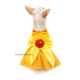 Spring Dog Dress, Dog Tutu Dress, Chihuahua Dress, Myknitt